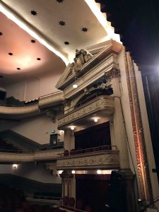 A beautiful old theater with pristine sound!