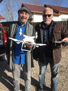 Michael and Jorma... quadcopter brothers...