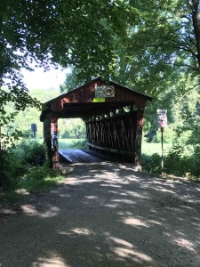 On of the old covered bridges in Athens County