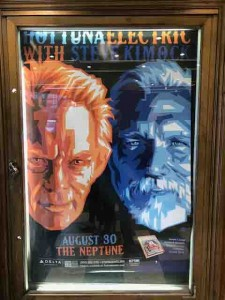 Our first trip to the Neptune... nice gig!
