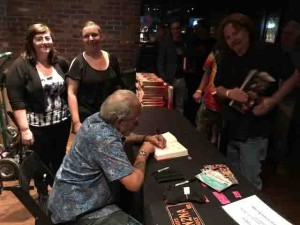Signing at Brooklyn Bowl