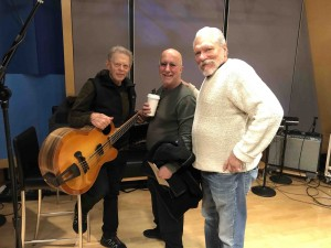 Jack Casady, Paul Shaffer and me... Jorma