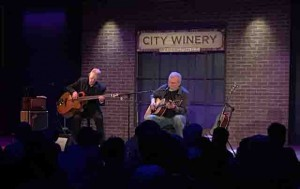 Holding forth at the City Winery