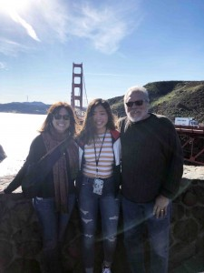 Kaukonen family at the Golden Gate