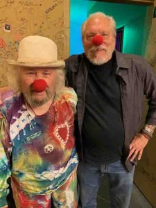 My old buddy Wavy Gravy....