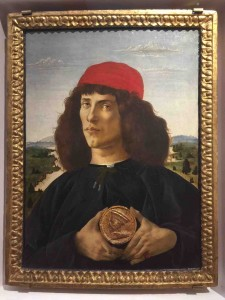 Botticelli Portrait Of A Young Man 1475