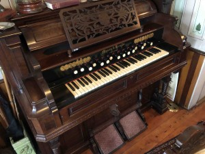 The pump organ next door.