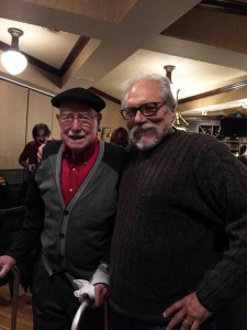 Jorma with Ray on his 95th Birthday