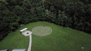 Our Labyrinth from the air