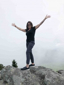 Nessa... standing on top of he world!
