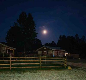 Late summer night at the Ranch!