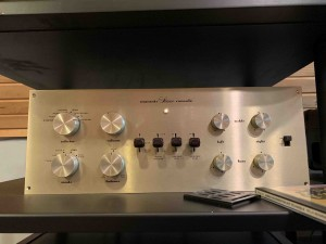 The old Marantz pre-amp