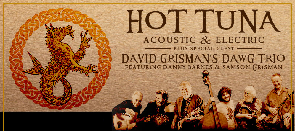 Hot Tuna and David Grissman Tour